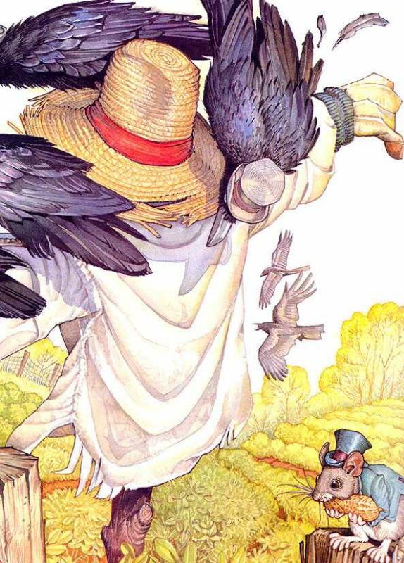 Дон Дэйли. Иллюстрация к сказке Братец Кролик 005