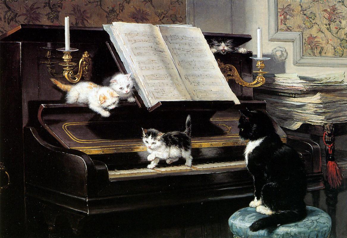 Henrietta Ronner Knip. Musicians