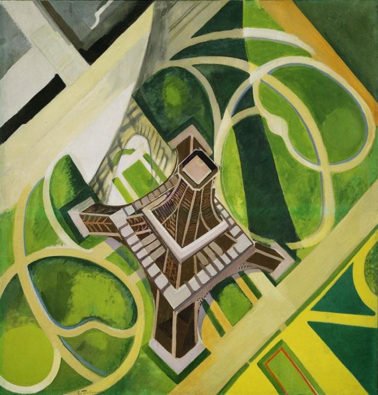 Робер Делоне. Эйфелева башня и сады Марсового поля