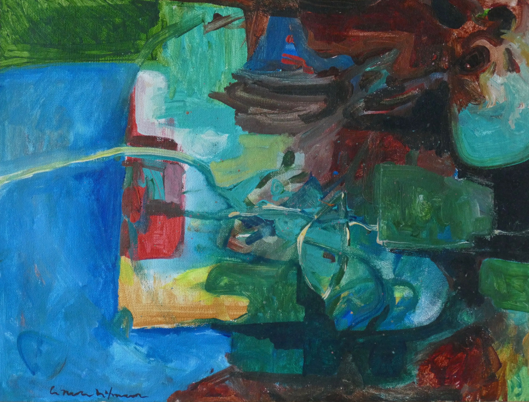 Hans Hoffmann. Non-objective composition