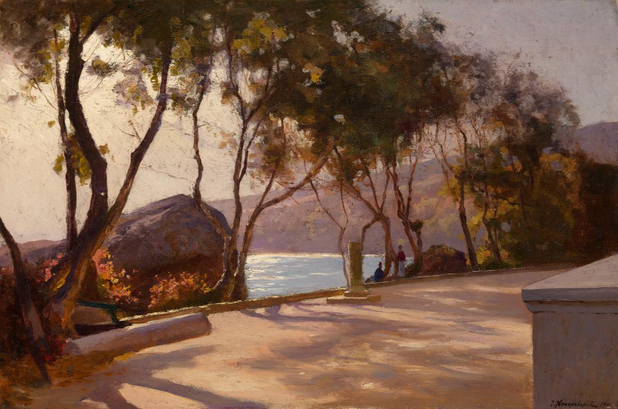 Joseph Evstafievich Krachkovsky. Embankment Private collection.