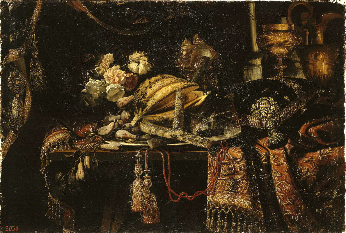 Франческо Мальтезе. Натюрморт с дыней