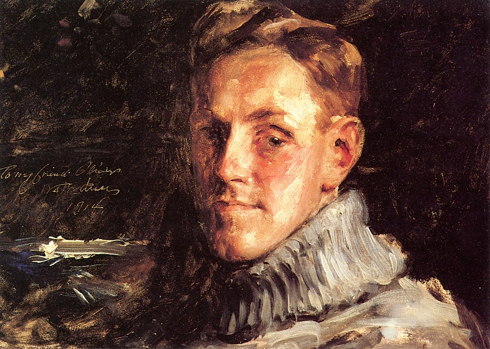 William Merritt Chase. Myron George. Oliver