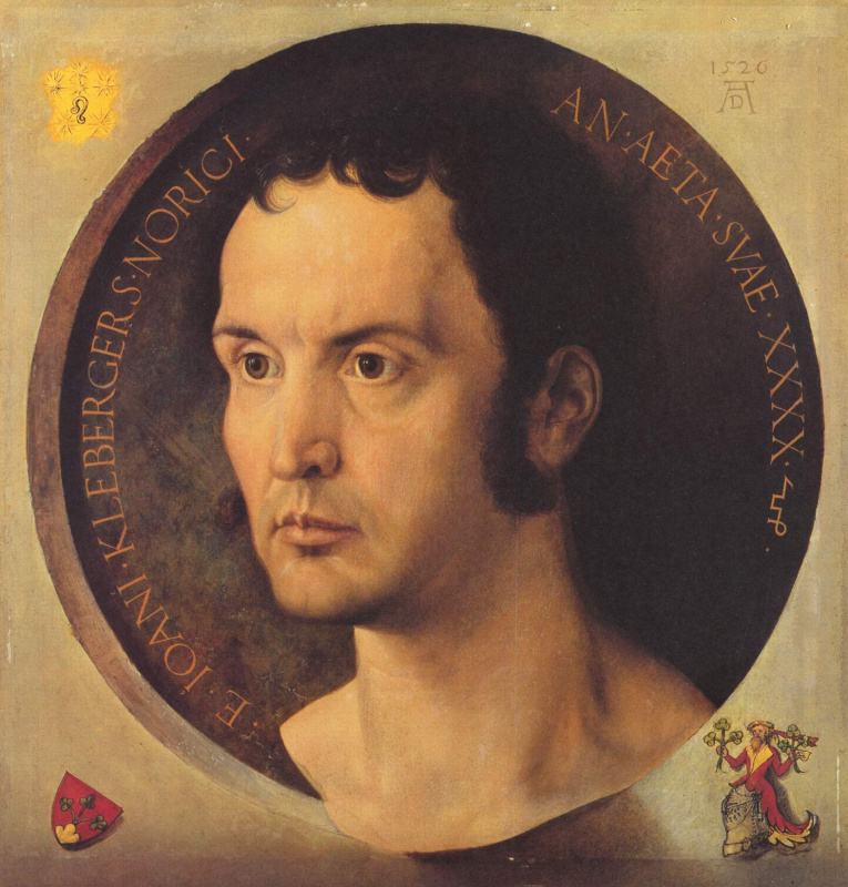 Albrecht Durer. Portrait Of Johannes Of Kleberger