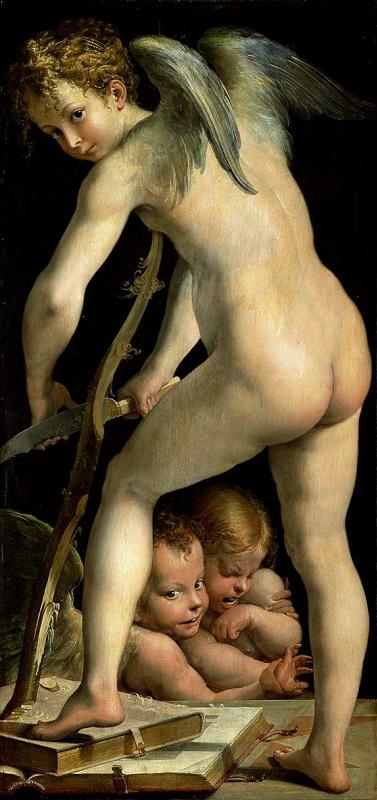 Francesco Parmigianino. Cupid