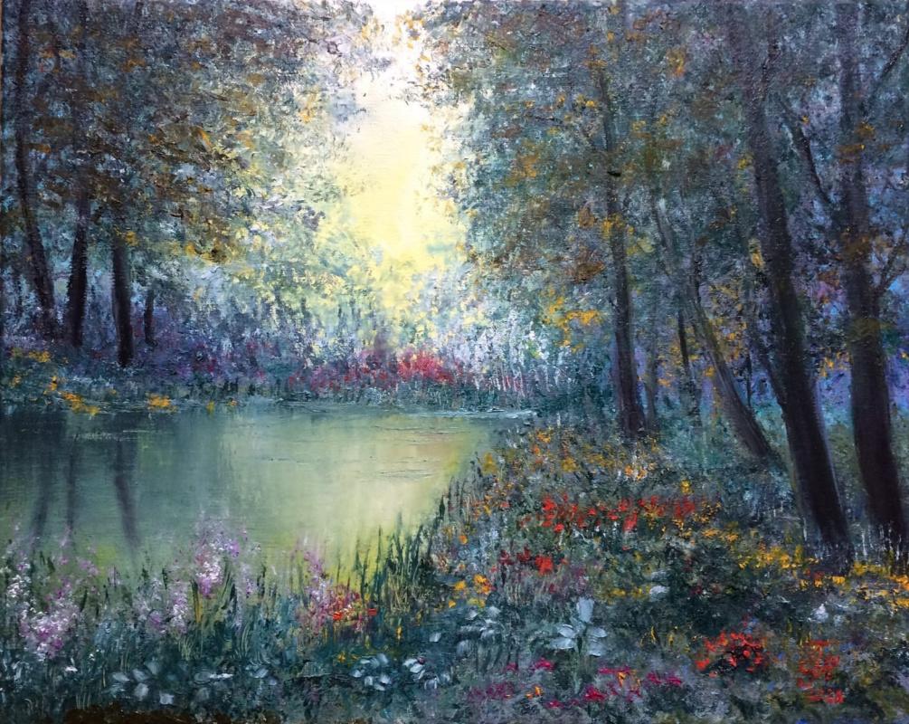 Galina Nikolaevna Silina. Fairy forest.