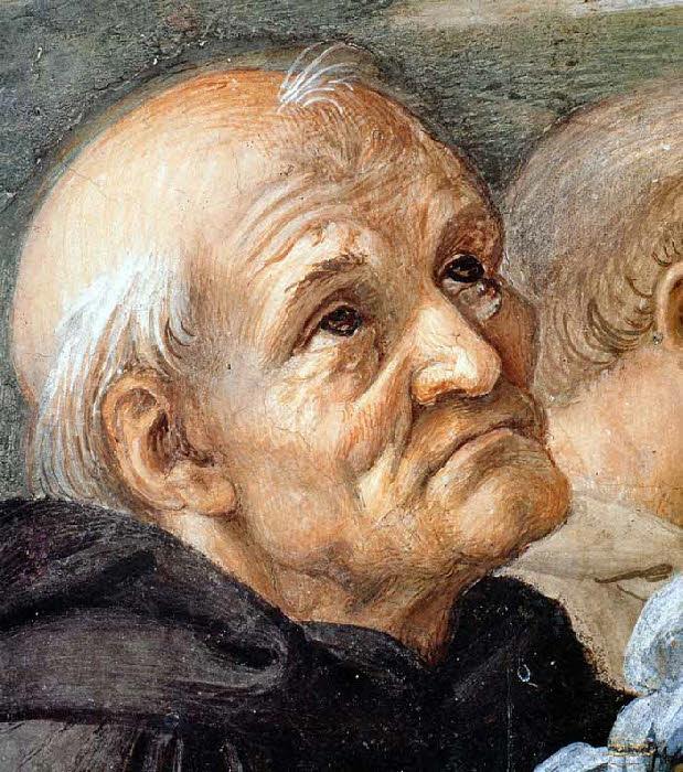 """The stanza della senyatura. The Fresco """"Dispute"""". Snippet: Beato fra Angelico, the painter-monk"""