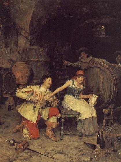 Федерико Андреотти. Флирт в винном погребе