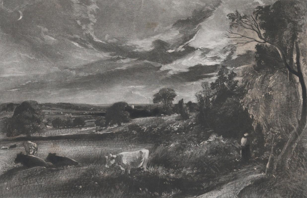 John Constable. Summer evening