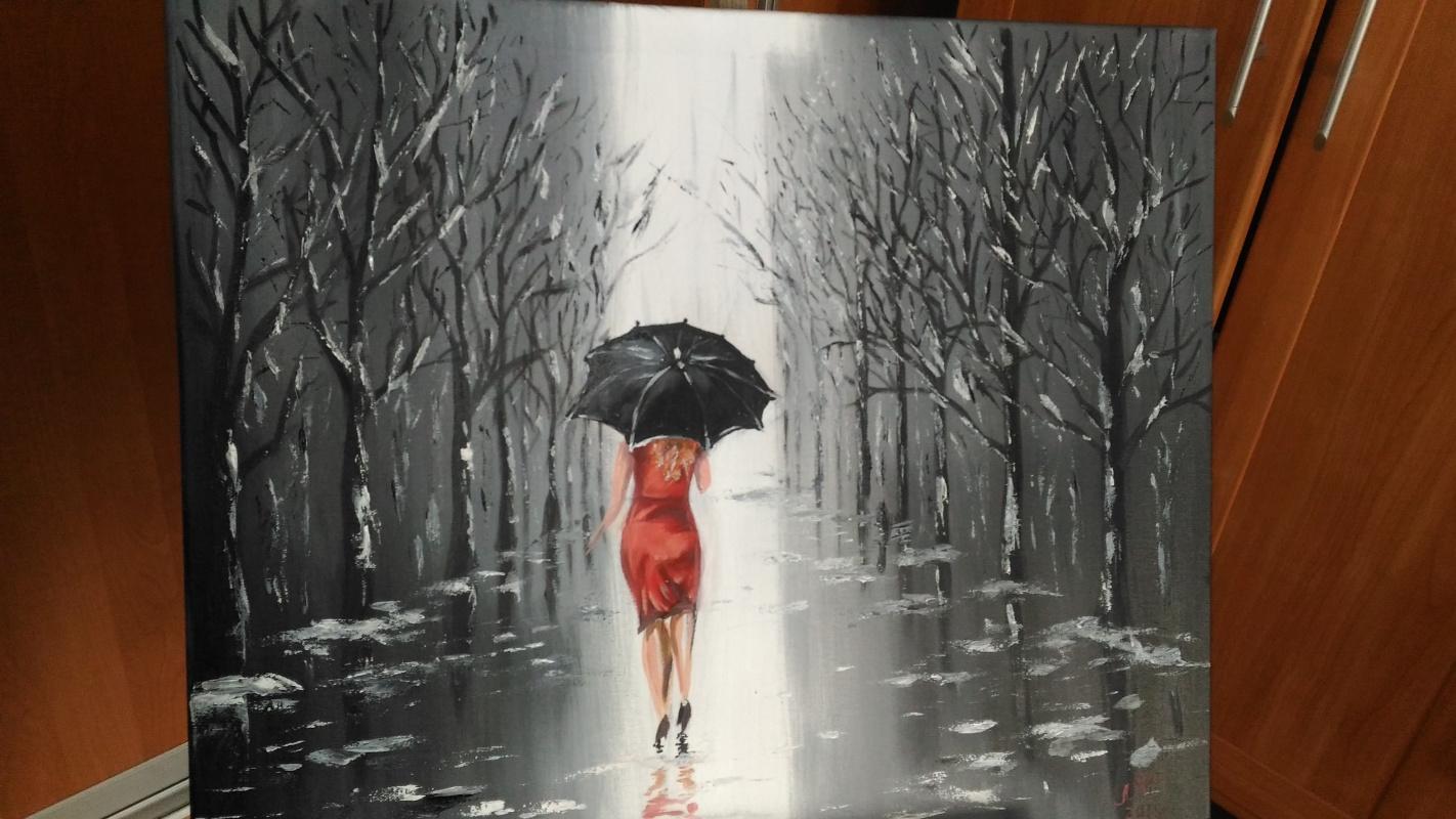 Lilya Fedorova. Leaving the rain