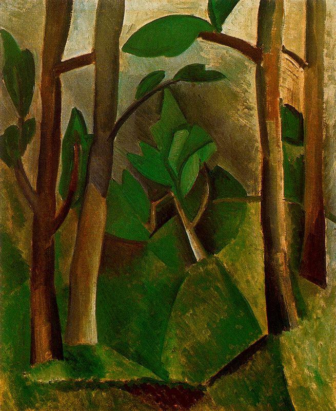 Пабло Пикассо. Пейзаж 4