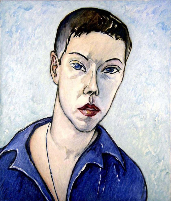 Xenia Shilnikova. Self-portrait