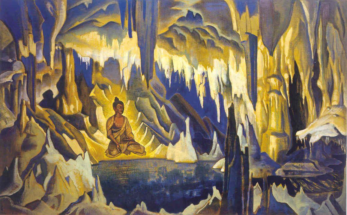 Nicholas Roerich. Buddha The Winner