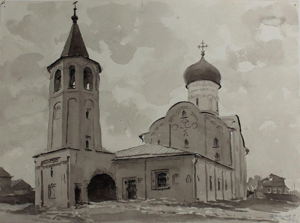 Sergey Kuzmich Frolov. Church of Theodore Stratilates on the Brook