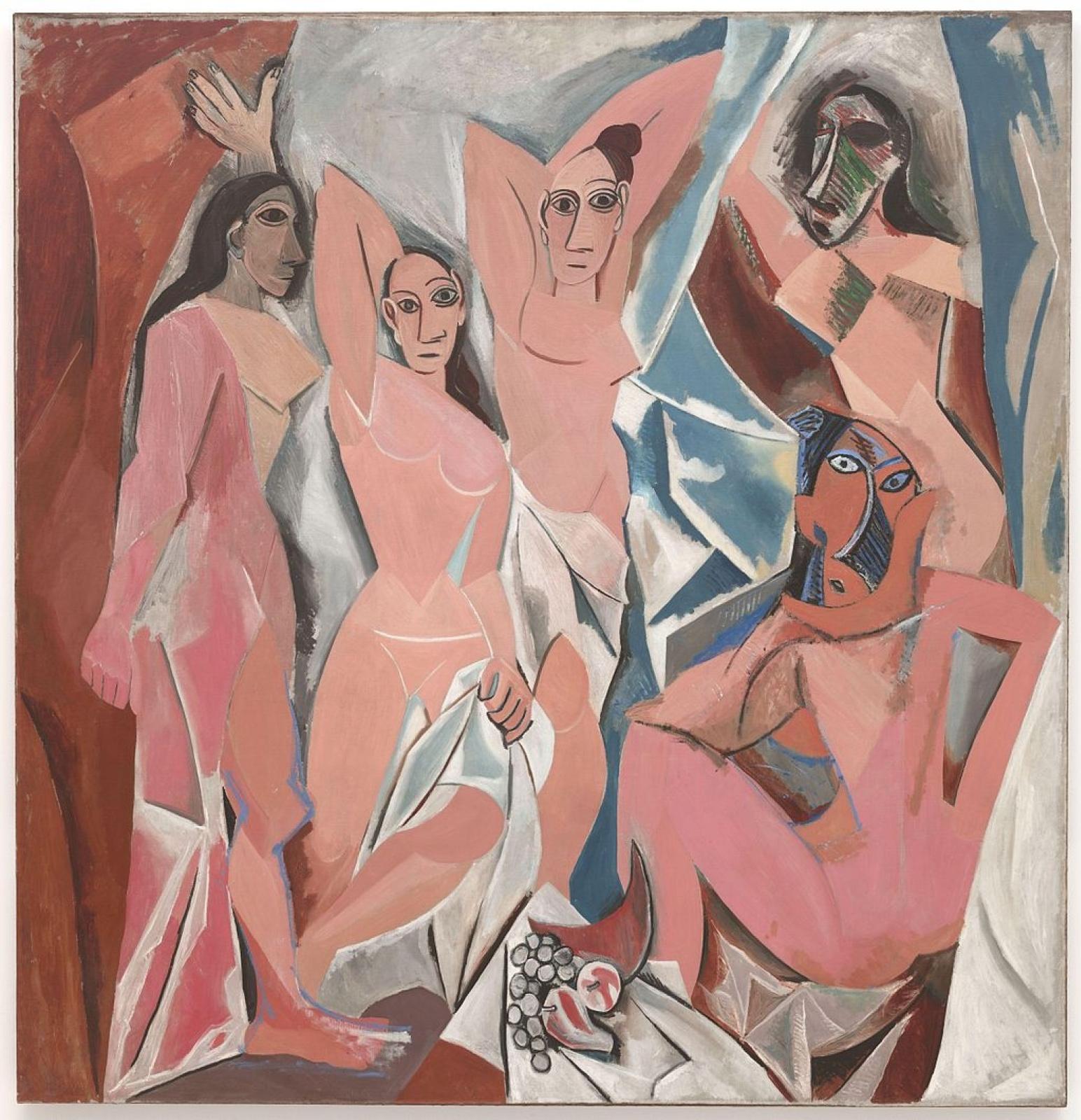 Пабло Пикассо. Авиньонские девицы