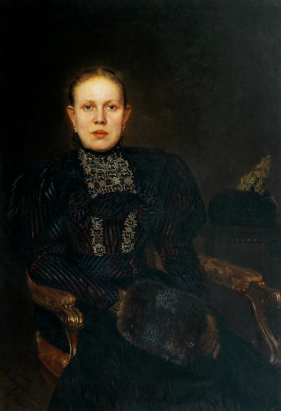 Портрет О. Ф. Бурышкиной