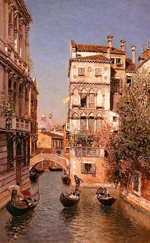 Мартин Рико Ортега. Вдоль канала, Венеция