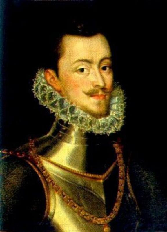 Алонсо Санчес Коэльо. Портрет полководца Хуана Австрийского
