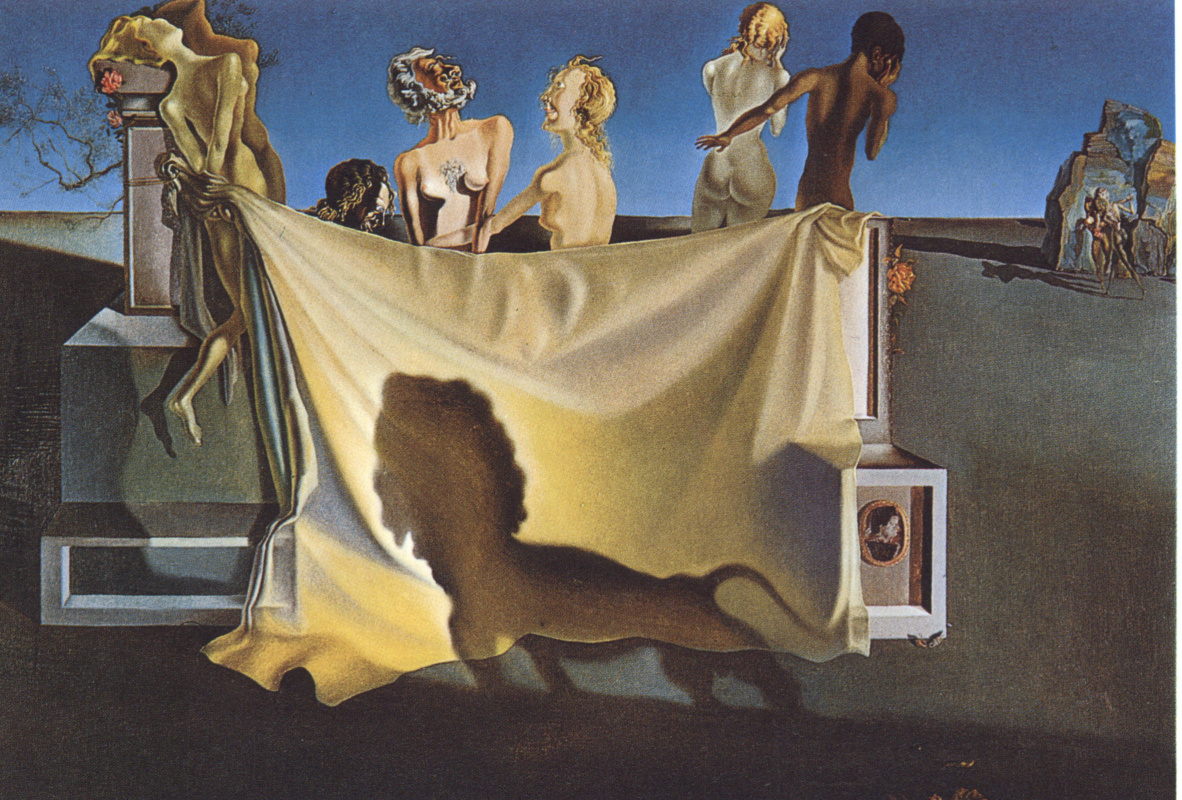 The old age of william tell salvador dali painting