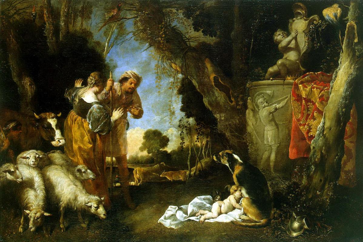 Antonio Maria Vassallo. Childhood of king Cyrus