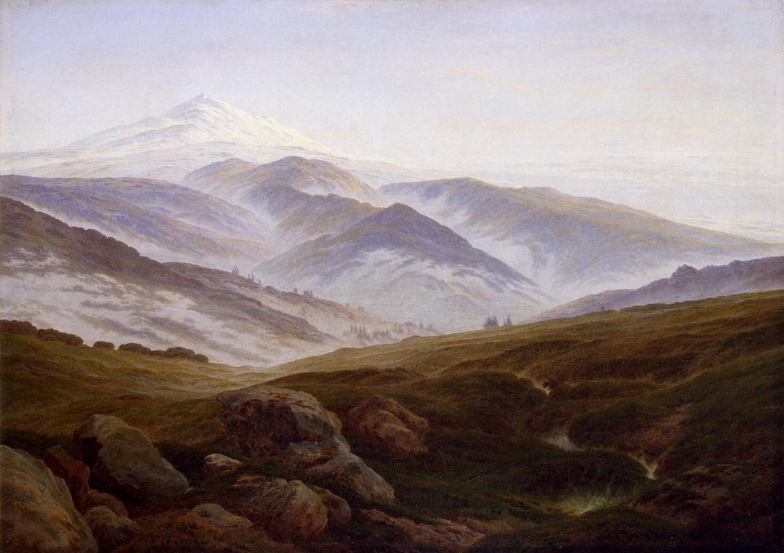 Каспар Давид Фридрих. Горы
