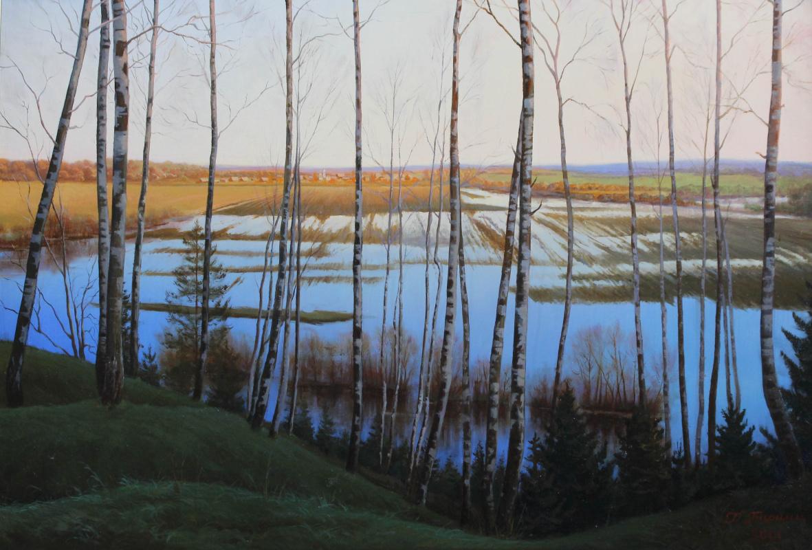 Gennady Shotovich Bartsits. Ucha River Spill