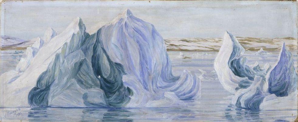 Степан Григорьевич Писахов. Icebergs