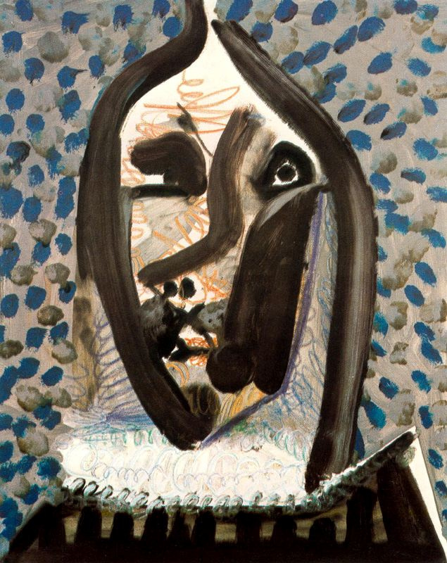 Пабло Пикассо. Голова человека