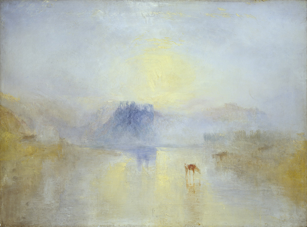 Joseph Mallord William Turner. Norham Castle, Sunrise