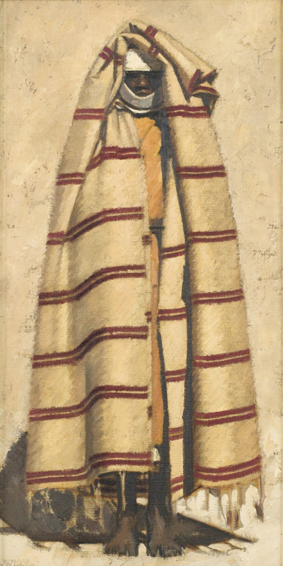Bernard Boutet de Monvel. The woman standing