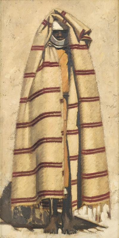 Бернар Буте де Монвель. Стоящая женщина