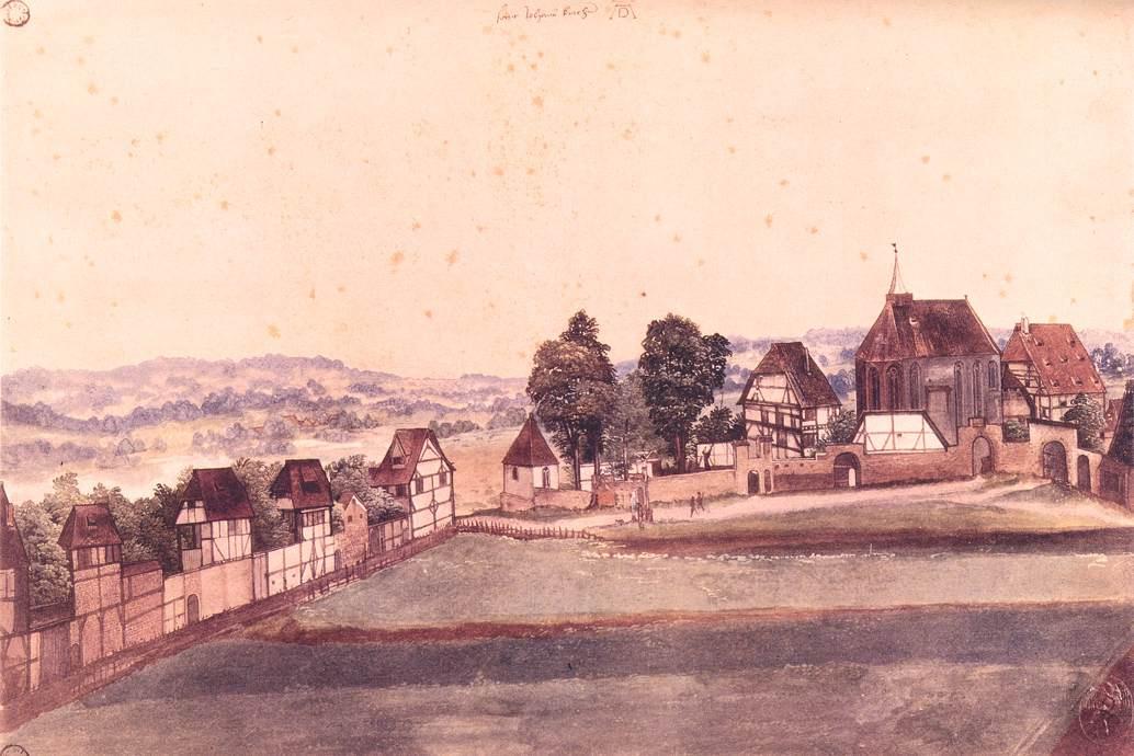 Albrecht Dürer. The Church Of St. John