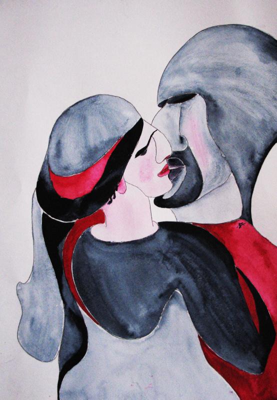 Анна Викторовна Захарова. Поцелуй в горах / Kiss in the mountains