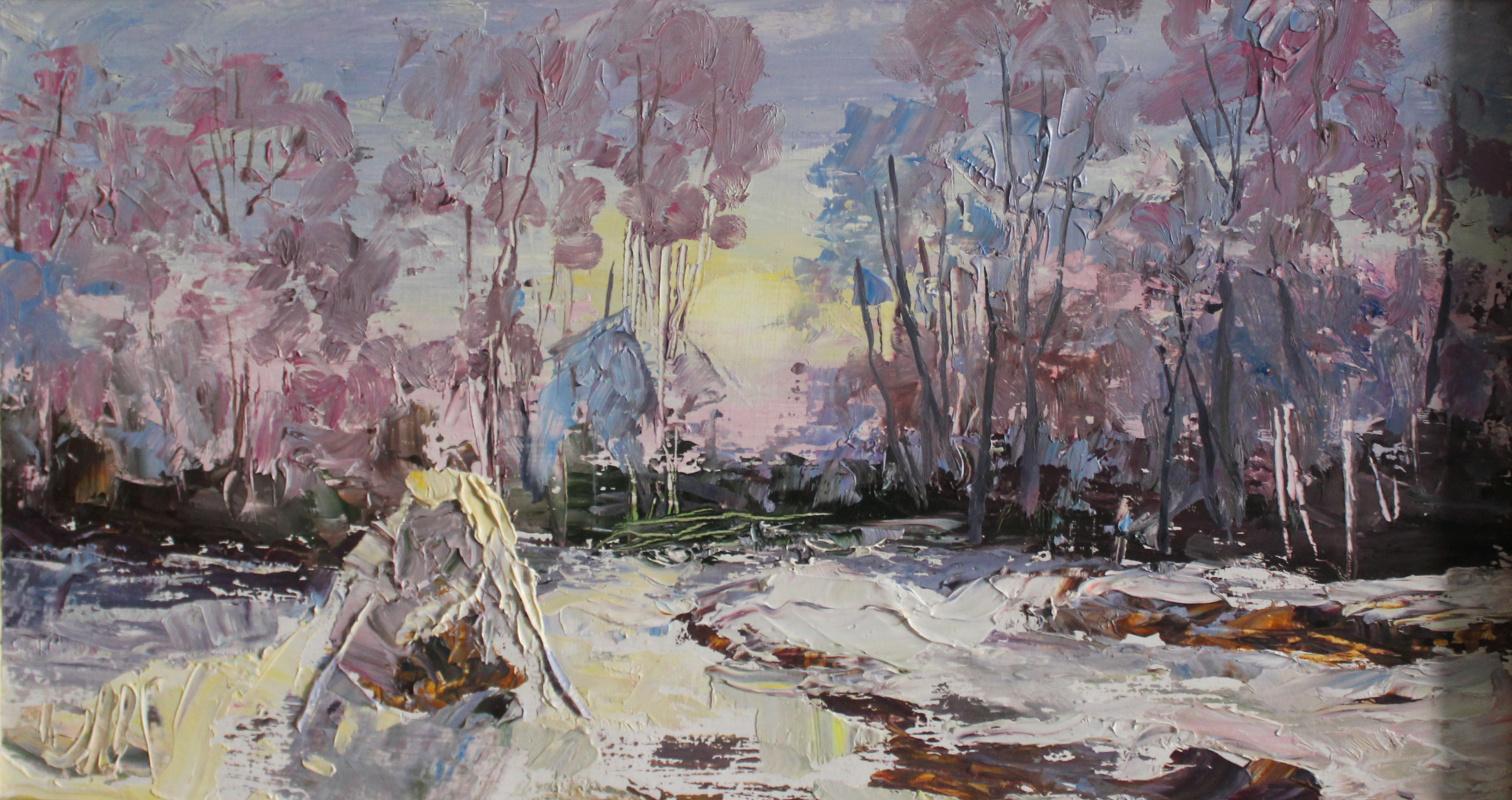 Love Sergeyevna Nikulina. Winter day