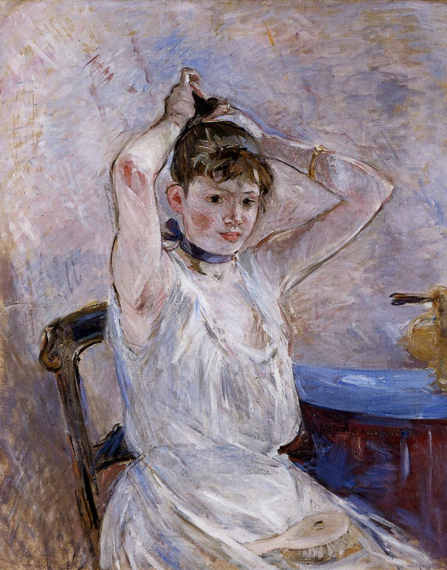 Berthe Morisot. The Bath