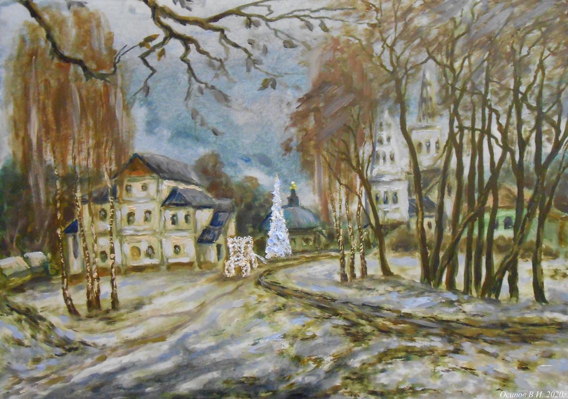 Владимир Иванович Осипов. Christmas tree