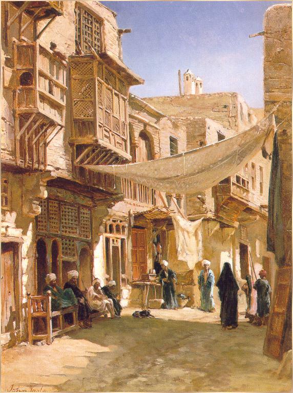 Улица в ближнем Каире