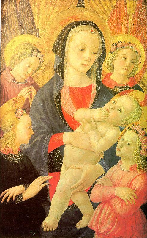 Кастелло. Богородица с младенцем