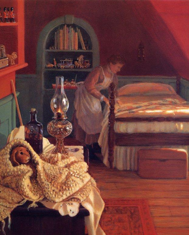 Донна Грин. Приготовления ко сну