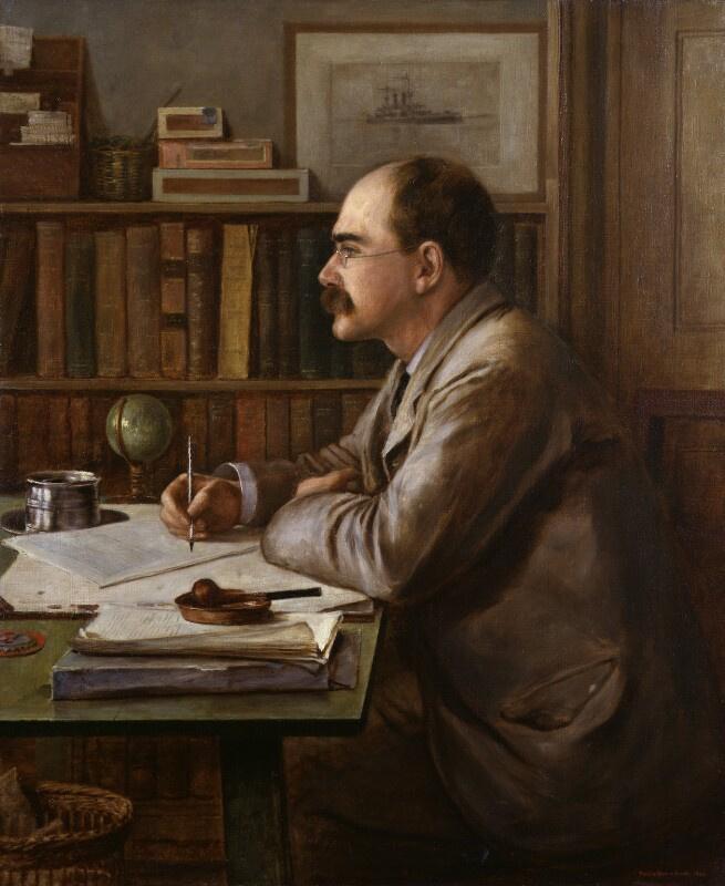 Philip Burne-Jones. Rudyard Kipling