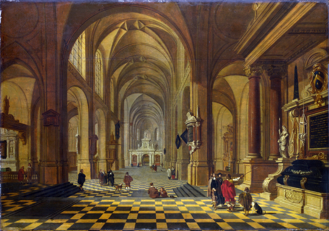 Ван Бассен Варфоломея. Интерьер церкви