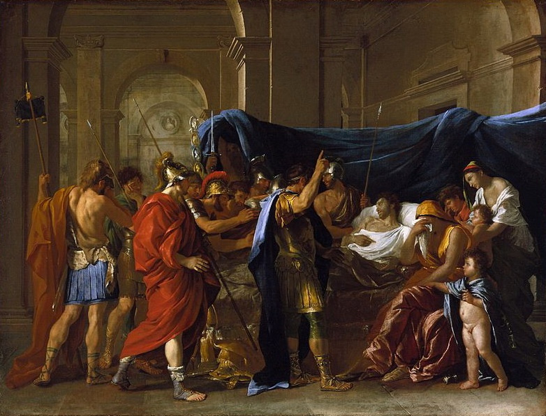 Nicola Poussin. The Death Of Germanicus