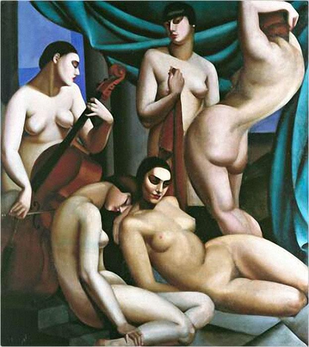 Tamara Lempicka. Rhythm