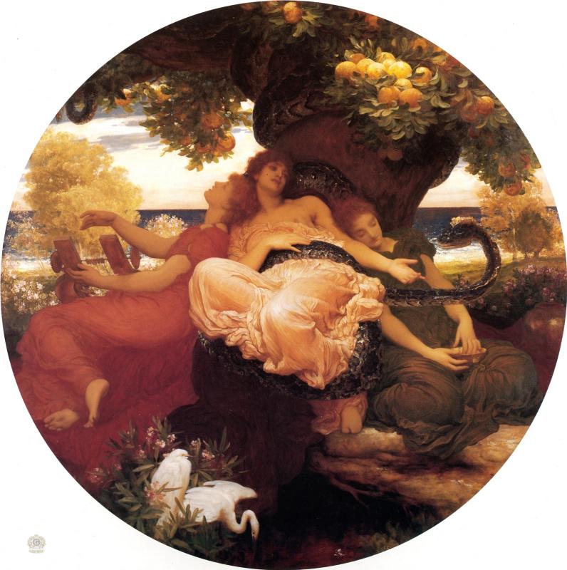 Frederic Leighton. Hesperides Garden
