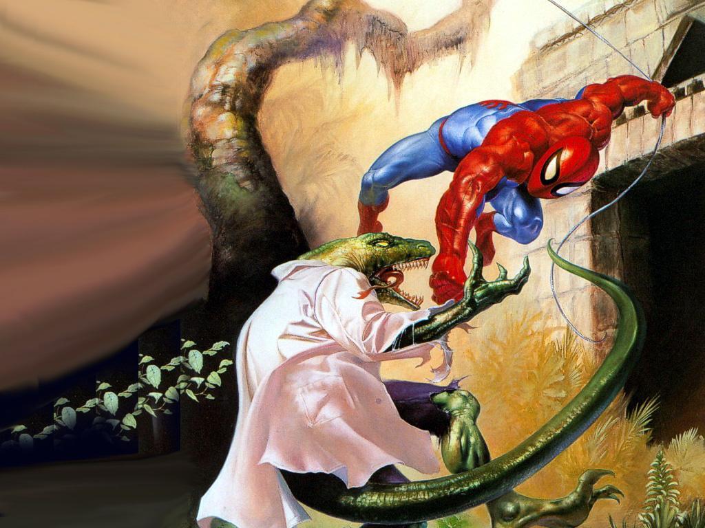 Lizard spider man