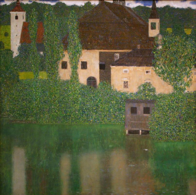Густав Климт. Замок Каммер на озеро Аттерзее I (Замок воды)