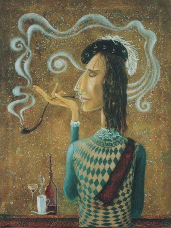 Андрей Владимирович Вохмянин (Вох). Любимый табак