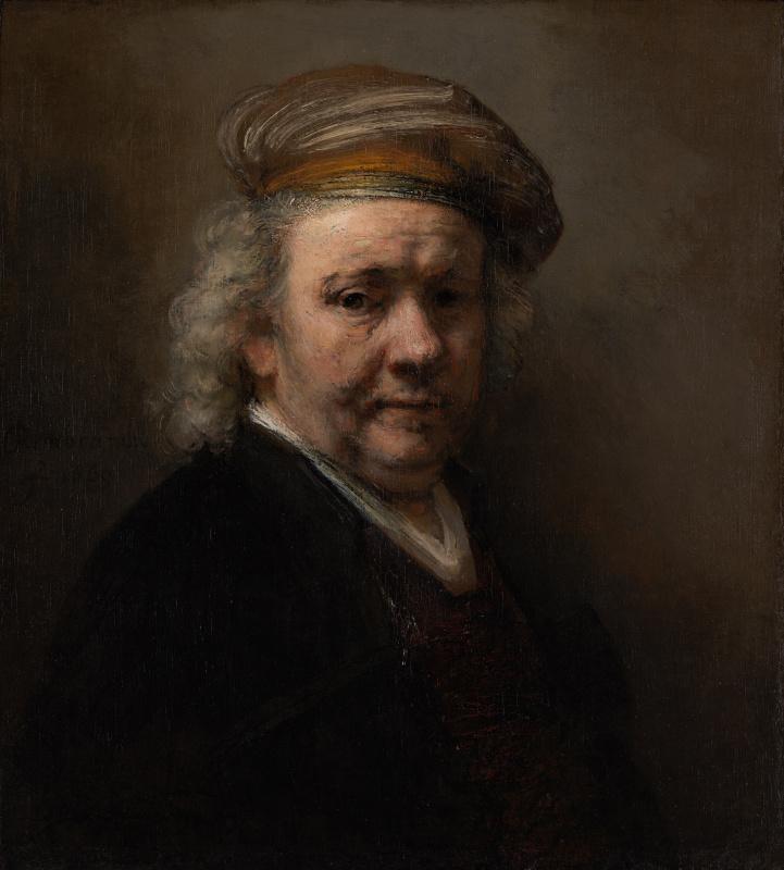 Rembrandt Harmenszoon van Rijn. Self-portrait