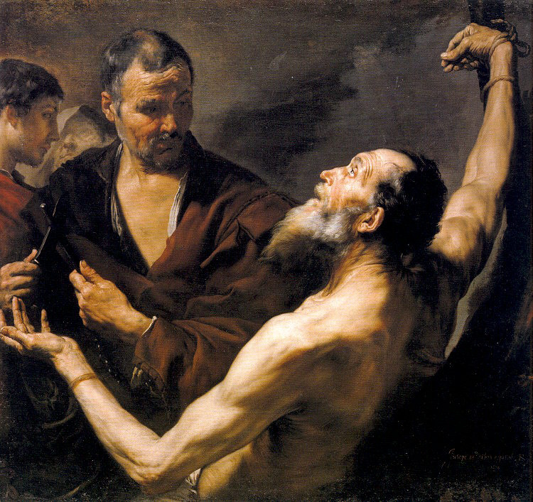 Jose de Ribera. The Martyrdom Of St. Bartholomew