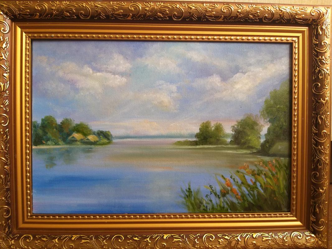 Valeria Kostromina. Summer lake
